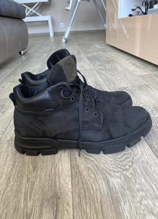 Мужские тёплые ботинки