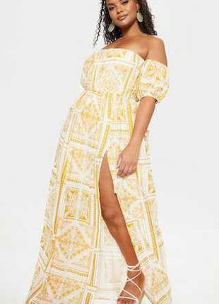 Новое шикарное платье 16/50-52 размера