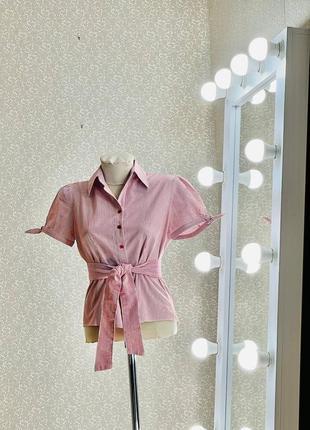 Шикарная женская блуза в полоску