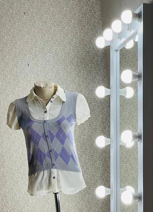 Шикарная женская блуза рубашка