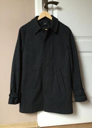 Классическое пальто шерсть asos
