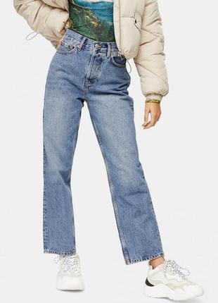Джинсы винтаж джинсы с высокой посадкой мом topshop zara 🥭