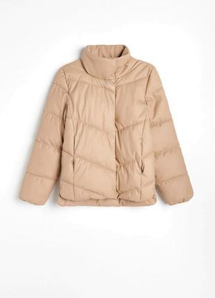 Дутакэя куртка экокожа 34-44