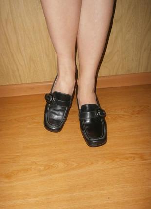 Marc оригинал!!!натуральная кожа! элегантные,комфортные закрытые туфли