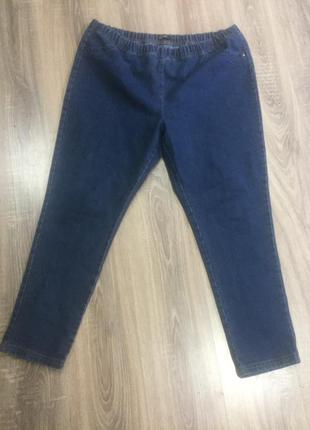 Батал джинсы джеггинсы