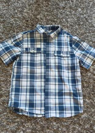 Рубашка тенниска h&m 146 см