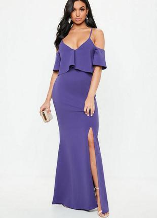 Шикарное макси платье