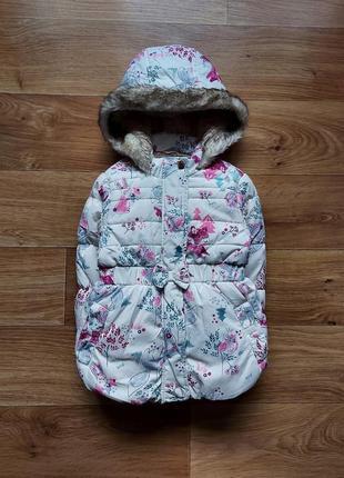 Красивая зимняя курточка на девочку