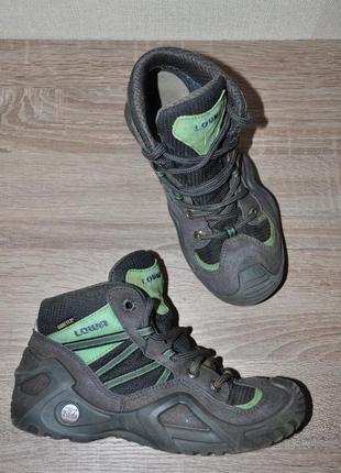 Мембранные ботинки lowa стелька 21,5 см