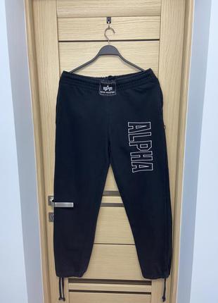 Чоловічі оригінальні vintage штани спортивні alpha industries