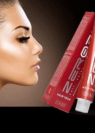 Стойкая крем-краска для волос с аммиаком zer035 hair tech италия