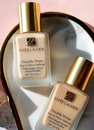 Estée lauder тональна основа ,тональный крем double wear