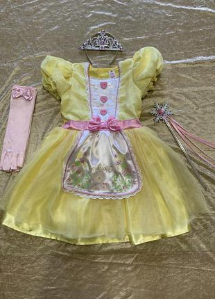 Карнавальный костюм платье tu принцессы феи на 3-4 года
