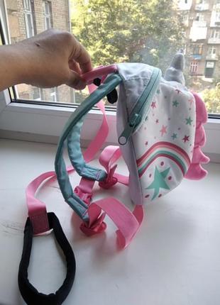 Little life вожжи рюкзак для малышей единорог
