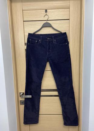Levi's чоловічі оригінальні велюрові штани