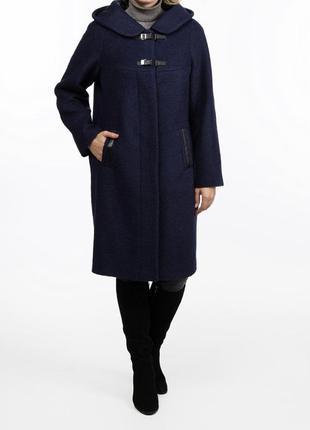 Пальто 100% шерсть 54-56 размер