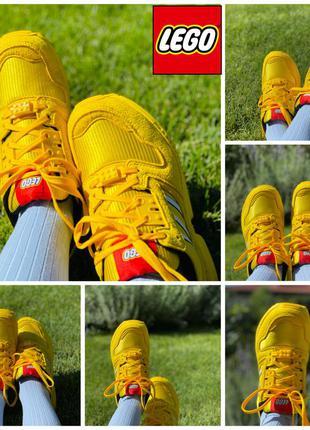 Яркие и солнечные  кроссовки lego adidas (36,5-37 размер)
