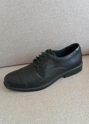 Шкіряні туфлі туфли gallus /розм.45 оригінал