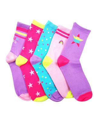 Комплектом яркие носки на девочек, primark