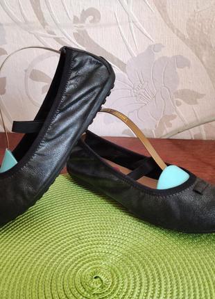 Ну крутячие кожаные балетки geox respira