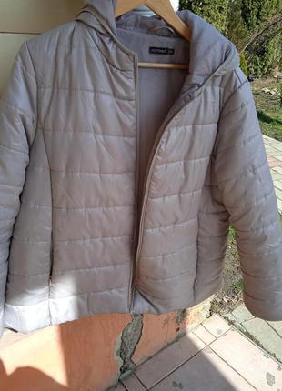 Стильная куртка демисезонная большого размера