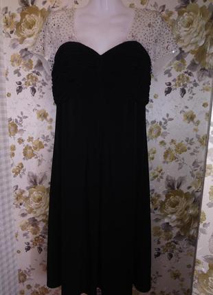 """🌺 🌿 🍃 вечернее платье р.48""""berkertex"""" 🌺 🌿 🍃"""