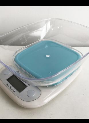 Весы кухонные ms-125 plastic