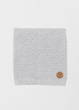 Снуды - шарфы серый от h&m на 2-4 года