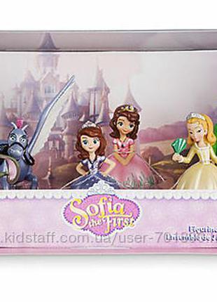 Набор фигурок принцесса софия и ее друзья. дисней