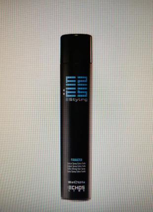 Echosline fixmaster extra strong hair spray - лак екстра сильної фіксації 500 мл