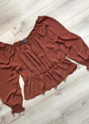 Красивая блуза свободного кроя primark