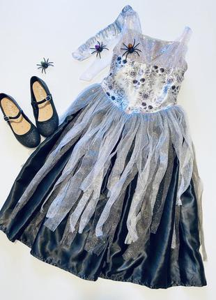 """Гламурный карнавальный костюм для хеллоуина """"miss halloween"""""""