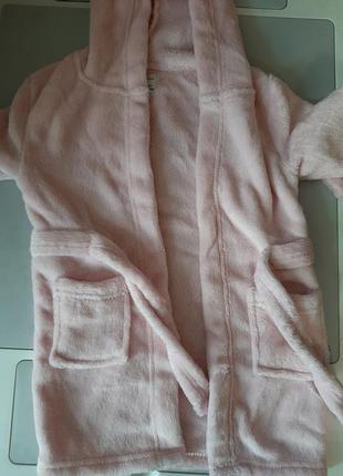 Детский халат,халатик на девочку 98 см