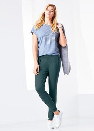 Трикотажные брюки штаны размер 46-50 наш tchibo тсм