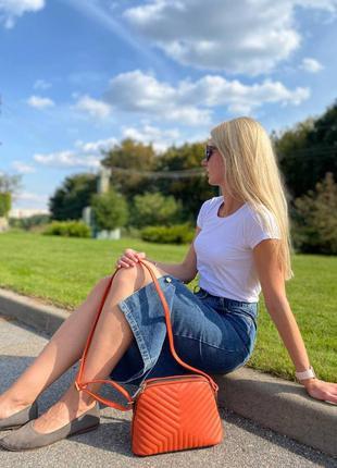 Сумка женская стеганная sara moda италия s01-0854
