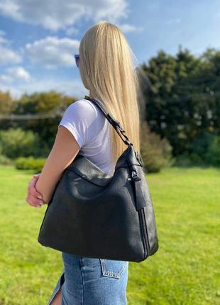 Сумка женская по бокам карманы paolo bags италия s00-0813