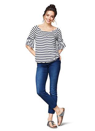 Блузка блуза кармен размер 46-50 и 54-58 наш tchibo тсм