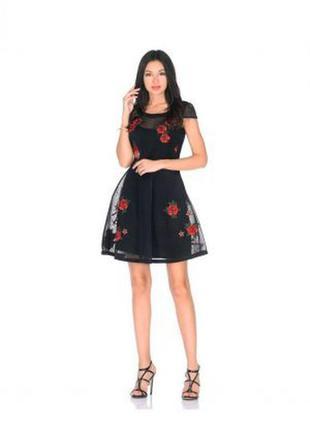 Платье сетка guess