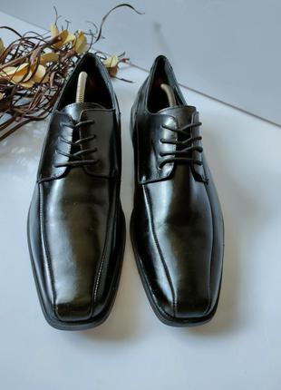 Туфли кожаные stage adams