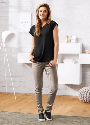 Стильные джинсы с блеском размер 44-46 наш tchibo тсм