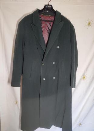 Шерстяное пальто оверсайз