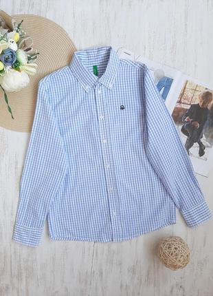 Крутая рубашка united colors of benetton