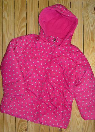Куртка еврозима осень для девочки
