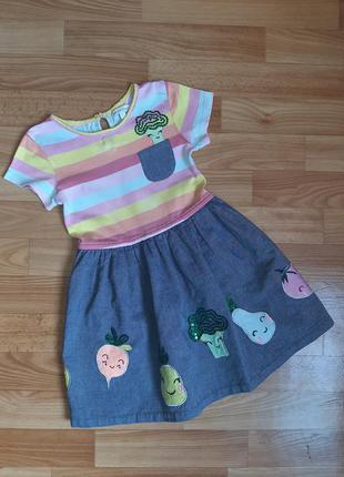 Платье 3-4 годика bluezoo
