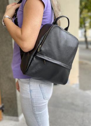 Рюкзак нат шкіра женский