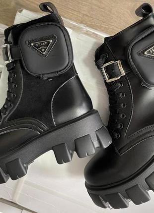 Женские деми ботинки стильная новинка осень