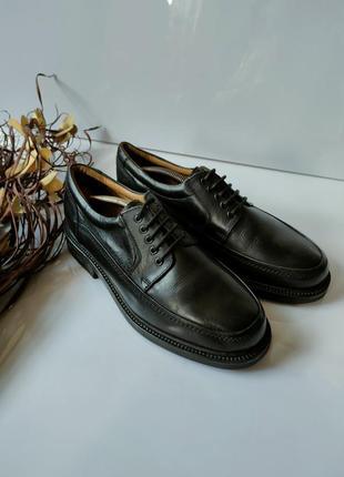 Туфли кожаные итальянские claudio conti