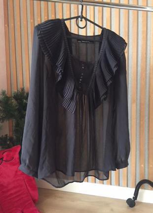 Блуза zara размер l