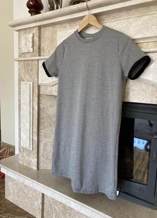 Тёплое платье - футболка от zara👌