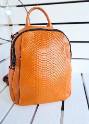 Женский кожаный рюкзак натуральная кожа